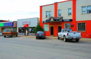 The small town of Crossfield Alberta