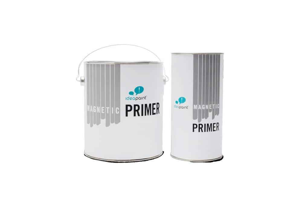 picture of 2 cans of Magnetic primer for walls