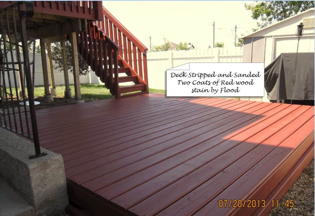 Calgary Deck Painting Deck Restoration How To Stain A Deck
