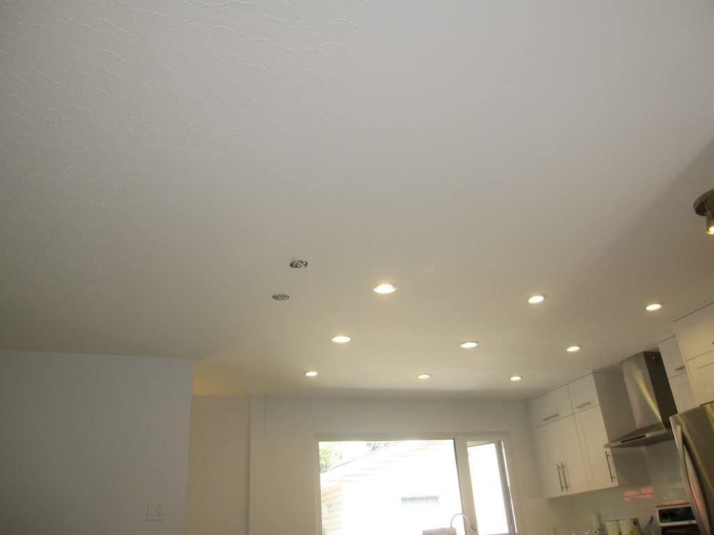 picture of kitchen ceiling in calgary
