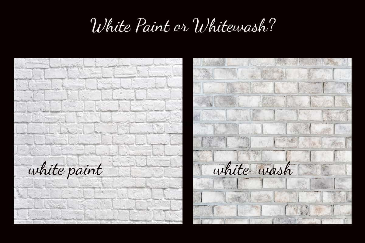 Painting Brick Opaque Or Translucent Finishes Whitewash Brick