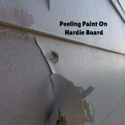 Paint Failure On Hardie Board